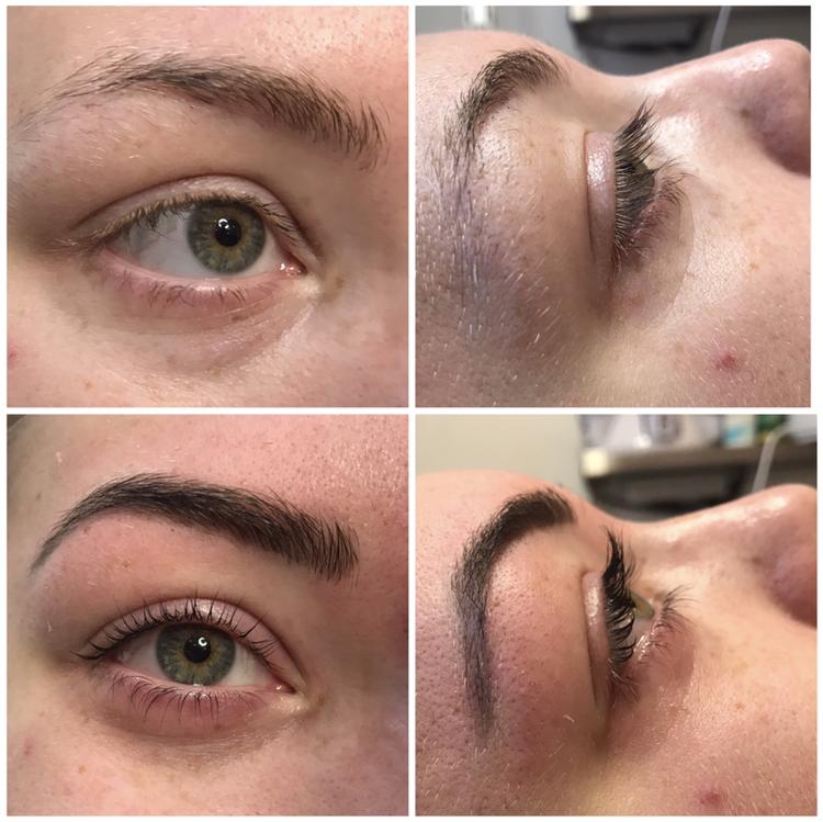 böja ögonfransar permanent